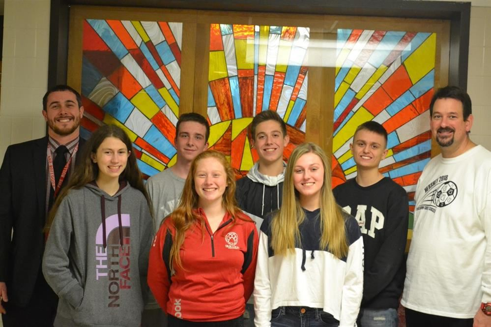 "October Students of the Month-   Profile of A Bulldog Theme ""Communication"""