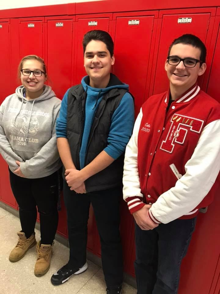 Congratulations to Mikayla Evans, Mason Hedge, Cole Skuse, and Marissa Lammie, who earned spots in PMEA District 5 Honors Band. The Honors Band will host a concert at Westminster College on December 1 at 2 p.m.