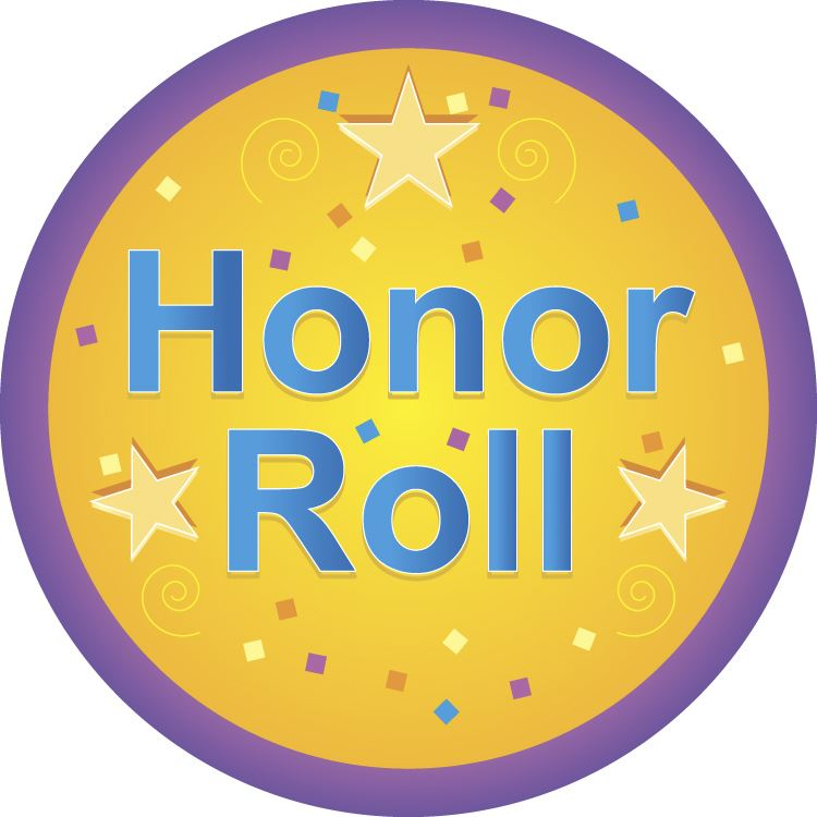 CONGRATULATIONS to those students who earned High Honor Roll and Honor Roll for the  1st 9 weeks for the 2018-2019 School Year.