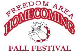 The 5th annual Freedom Area Homecoming Fall Festival will be held on Saturday, September 14, 2019.