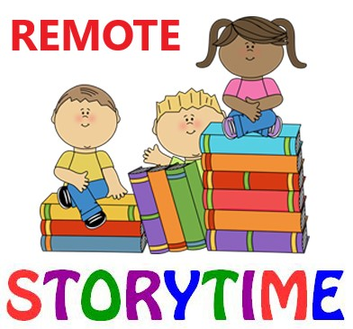 Remote Storytime.  Please click here to see and hear stories told by the Freedom Staff.
